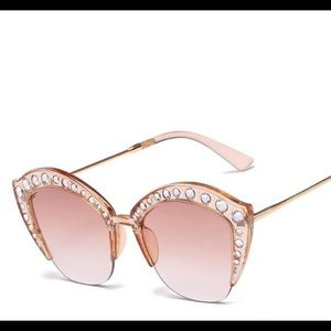 Accessories - Bling Invisible Frame Sunglasses